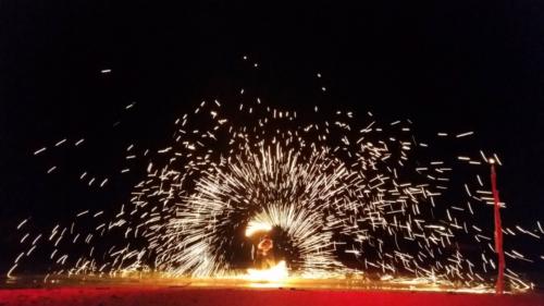 Fireshow on the beach