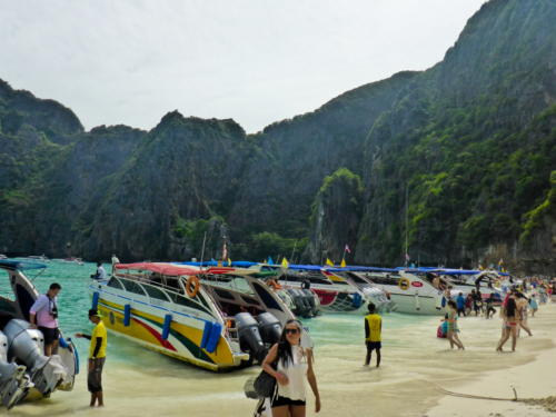 The shocking reality of the situation at Maya Bay