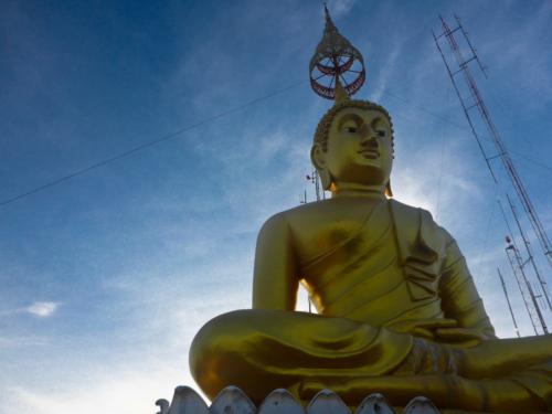 Big Buddah on the temple