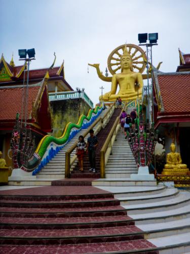 Big Buddah Temple in Koh Samui
