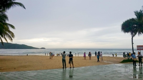The actual Patong Beach